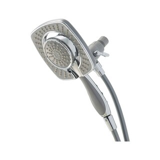 """Delta 75582D 2.5 GPM In2ition 2-in-1 6-5/8"""" Wide Multi Function Shower - Chrome"""