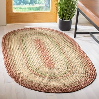 Safavieh Handmade Braided Jemima Country Rug