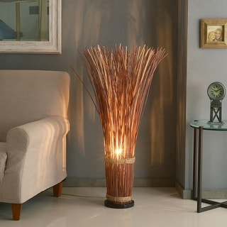 Coastal Reed 46-inch Floor Lamp