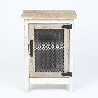 28.2in. H End Table with Storage