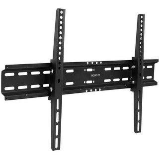 Mount-It! TV Wall Mount Bracket for 42-70 Inch TVs Tilt - Black