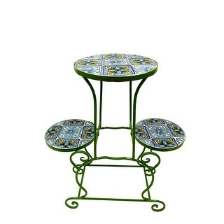 Kanstar Flower Plant Stand Rack Perfect for Flower Pots Garden and Living RoomAir Plant IndoorOutdoor Plant Holder