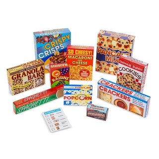 Lets Play House Grocery Shelf Boxes