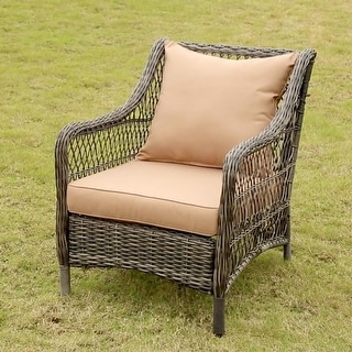 Gordon Outdoor Patio Cushion Set with Backrest and Seat Cushion by Havenside Home