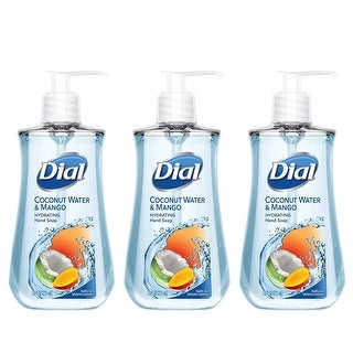 Dial Hand Soap Coconut Water & Mango 7.5 oz 3-PACK