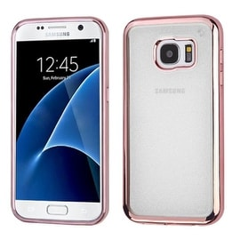 Insten Glittering Glitter TPU Rubber Candy Skin Case Cover For Samsung Galaxy S7
