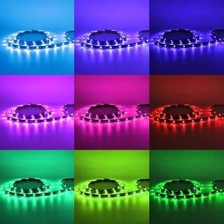 4 Pcs RGB Multi-color TV LED Backlight Kit, Wireless Remote Control Strip Light, Waterproof