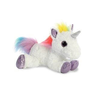 "Aurora World Flopsie Plush Toy Animal Rainbow Unicorn 12"""