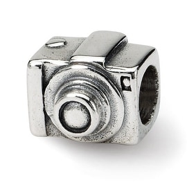 Sterling Silver Reflections Camera Bead (4mm Diameter Hole)