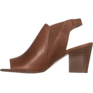 Style & Co. Womens Daniilop Peep Toe Casual Slingback Sandals