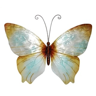 Butterfly Wall Decor Pearl - 1 x 18 x 13