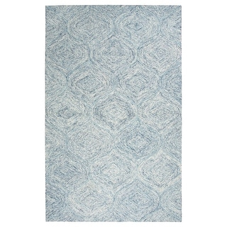 London Trellis Wool Hand-tufted Rug