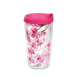 Japanese Cherry Blossom 16 oz Tumbler with lid