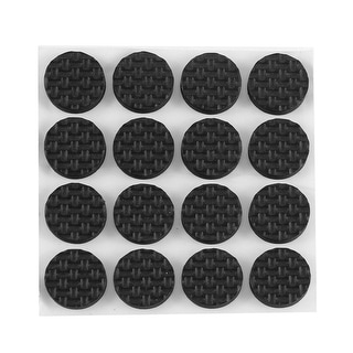 16pcs 18mm Round Self Adhesive Chair Table Sofa Furniture Pads Floor Protector