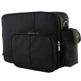 O Yikes! Black Messenger Bag