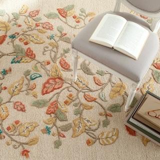 Martha Stewart by Safavieh Autumn Woods Wool/ Viscose Rug