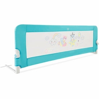 Gymax 69'' Breathable Baby Children Toddlers Bed Rail Guard Safety