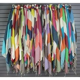 Eshma Mardini Turkish Cotton Absorbent Beach Towel, Easy Care ideal for Bath Spa Fitness Yoga Pool Yatch Swimwear