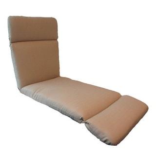 Suntastic Indoor/ Outdoor Linen Textured Chaise Cushion