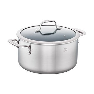 ZWILLING Spirit 3-ply 6-qt Stainless Steel Ceramic Nonstick Dutch Oven - Stainless Steel