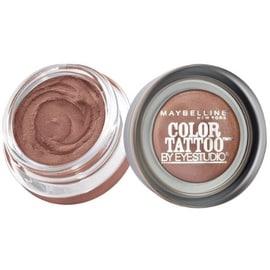 Maybelline EyeStudio Color Tattoo 24Hr Eyeshadow, Bad To The Bronze [25], 0.14 oz