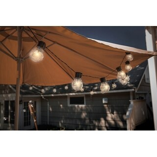 Solar Edison Style String Lights 10 Bulbs