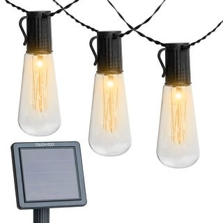Luminites Solar Powered LED String Light Bulbs - 2 Pack - 2 Pack