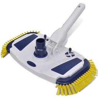 vidaXL Pool Vacuum Head Cleaner Brush - White