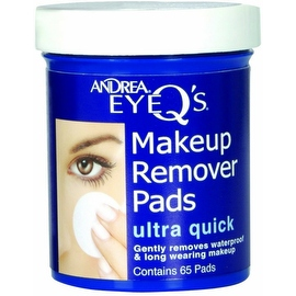 Andrea Eye Q's Eye Make-Up Remover Pads Ultra Quick (65 Each)