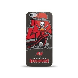 IPHONE 6 NFL OVERSIZED SNAP BACK TPU CASE TAMPA BAY BUCCANEERS