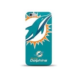 IPHONE 6 NFL OVERSIZED SNAP BACK TPU CASE MIAMI DOLPHINS