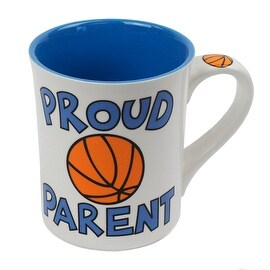 Proud Parent Basketball Mug