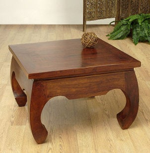 Squat accent table