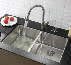 How to Measure for a New Kitchen Sink Overstock.com