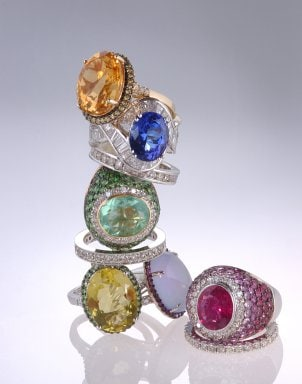 Best Accent Gemstones for Engagement Rings
