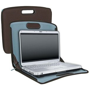 Laptop case with a 15.4-inch laptop