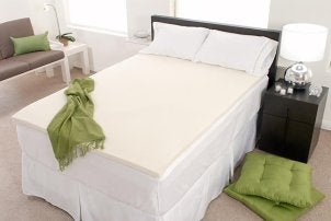 how to clean a memory foam mattress topper overstock. Black Bedroom Furniture Sets. Home Design Ideas