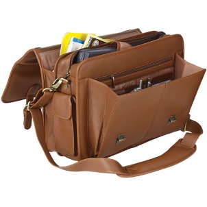 Fashionista On The Web: Laptop Messenger Bag