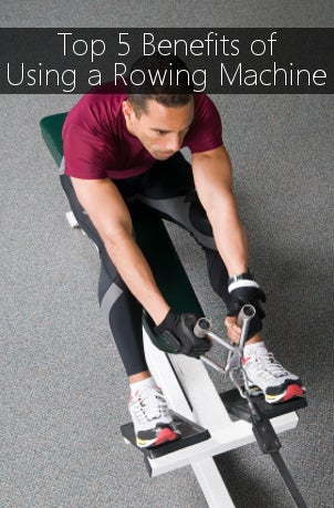 Top 5 Benefits of Using a Rowing Machine