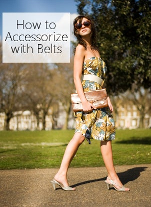 How to Accessorize with Belts