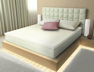 Foam mattress pad