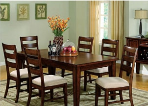 Wood dining furntiture set