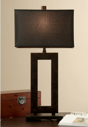 lamps to the style of your room. A traditional, Tiffany-style lamp ...