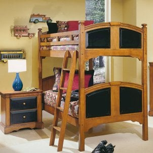 Kids' room with bunk bed