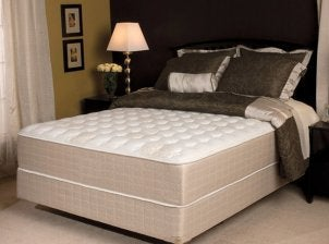 Bed with nice mattress