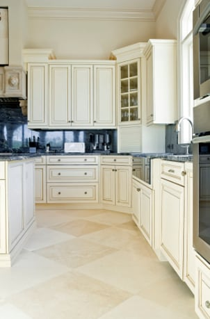 White Kitchen Cabinets Design on Tips On The Positioning Of Kitchen Cabinets   Overstock Com