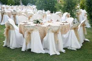 best ideas for wedding table linens overstock