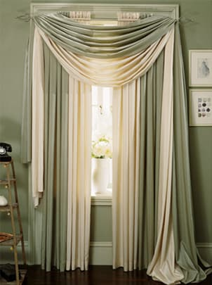 Hanging Curtain Rods Without Drilling Living Room Sheer Curtains