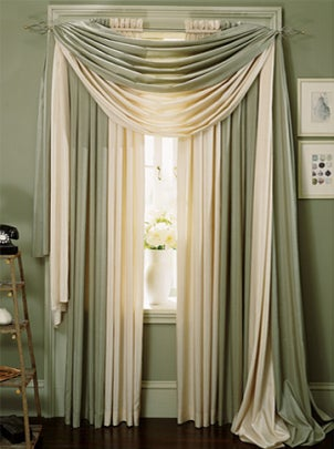 Curtain  Bath Outlet - Curtain Descriptions - Panels, Tiers
