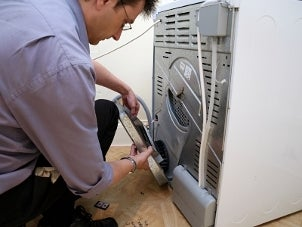How to Replace a Gas Dryer